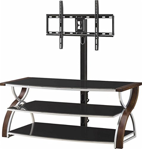 Whalen Furniture - 3-in-1 Console for Most Flat-Panel TVs Up to 65