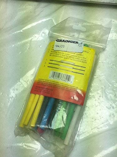 3M FP301 Heat Shrink Tubing Yellow 2 x 48 inch Mil Spec # M23053/5-112-4