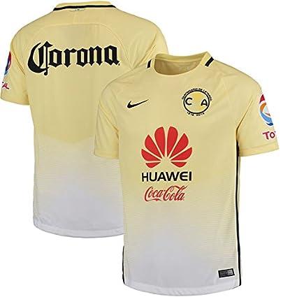 huge discount 16c96 4da6c Amazon.com : New! Mens Club Aguilas del America Home Jersey ...