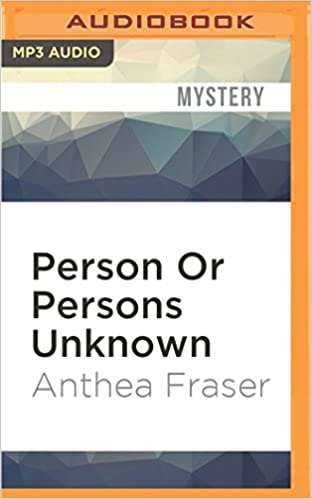 Livres en téléchargement gratuit en anglaisPerson Or Persons Unknown by Anthea Fraser PDF FB2