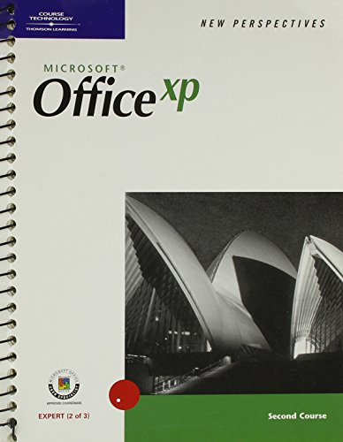 New Perspectives on Microsoft Office XP Second Course (New Perspectives (Course Technology Paperback))