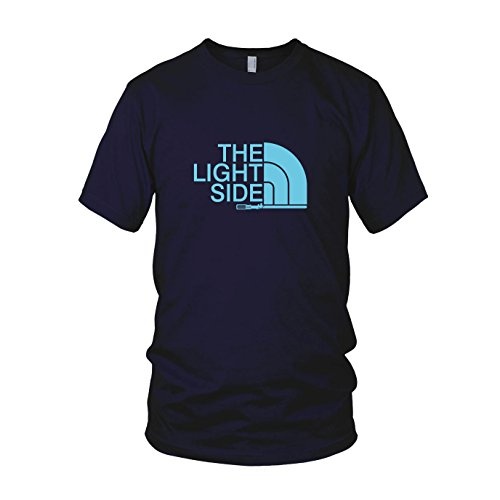 The Light Side - Herren T-Shirt, Größe: S, dunkelblau