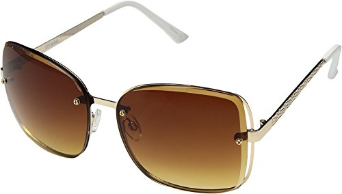 Steve Madden Women's Keegan Gold Sunglasses