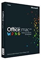 Office Mac Home & Business 2011 French (1PC/1User) (PC Key Card)