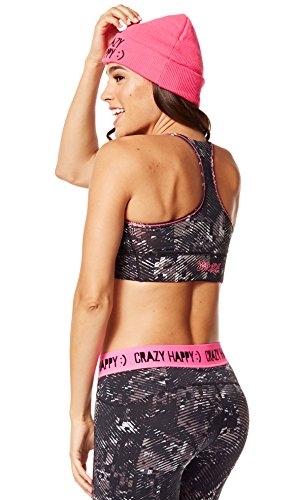 Zumba Fitness Get Charged Up - Ropa interior deportiva para mujer Azul