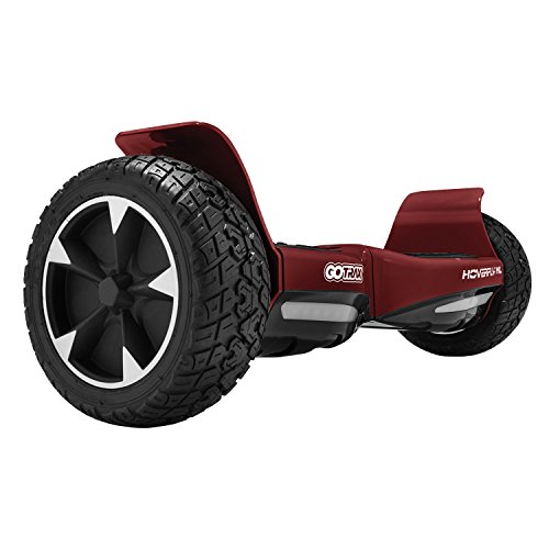 "GOTRAX Hoverfly XL All Terrain Hover Board 8.5"" Solid Rubber Tire - UL2272 Certified Self Balancing Off Road Hoverboard"