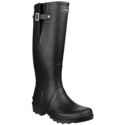 Cotswold Mens & Ladies/Womens Ragley Waterproof Welly Wellington Boots Black