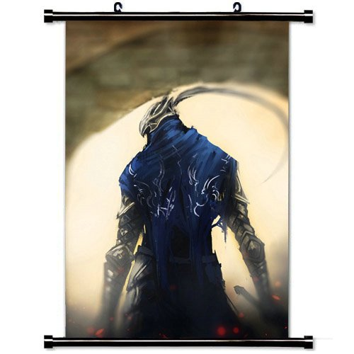 23.6 X 35.4 Inch Wall Posters,Dark Souls Gates Knight Art  F