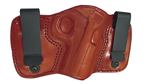 Tagua DCH-333 Dual Clip Holster, Glock 26-27-33, Brown, Left Hand by Tagua