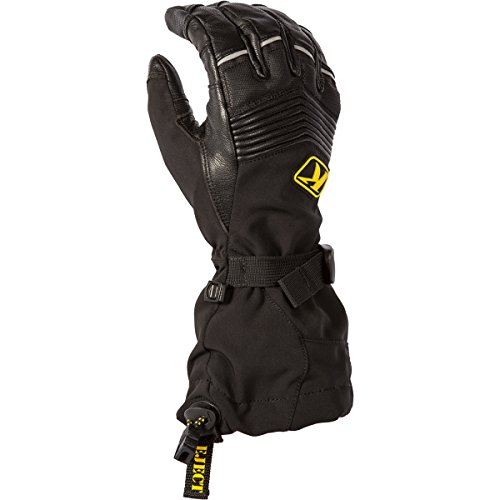 KLIM Summit Men's Ski Snowmobile Gloves - Black/Large