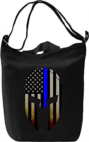 Blue Lives Matter Borsa Giornaliera Canvas Canvas Day Bag| 100% Premium Cotton Canvas| DTG Printing|