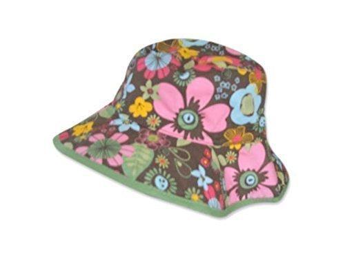 Bébés Pour Soleil Protection Motif 6 Réversible Mois 3 Filles Chapeau Multicolore Fleuri xq7Iwtn5xg
