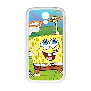 Lovely SpongeBob Cell Phone Case for Samsung Galaxy S4