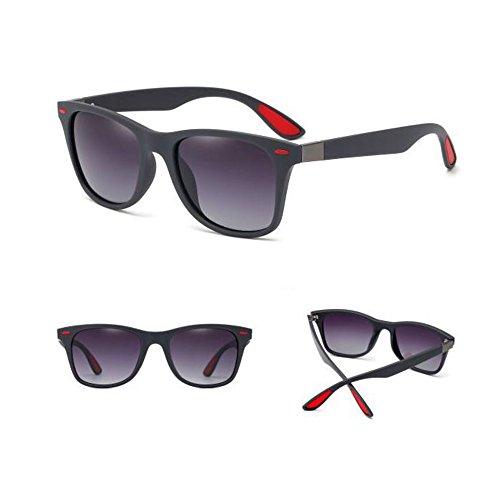 Masculinas de Retro Femeninas De Gafas Sol 1 Moda Anti sol Reflejante De Gafas Gafas 6 Polarizadas Conducción YQQ Gafas Deporte Color Gafas HD De Y 5ptXwqtx