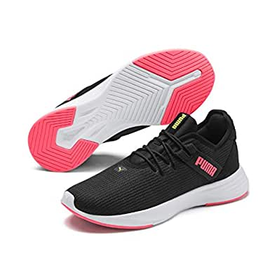 PUMA Radiate XT WN's Women's Fitness & Cross Training Shoes, PUMA Black-Pink Alert, 6 US