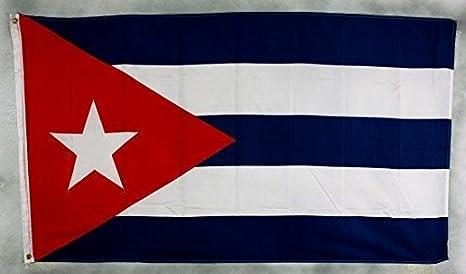 Cuba bandera 250 x 150 cm, tamaño grande, impermeable): Amazon.es ...