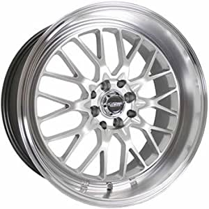 "Kyowa Racing 628 Evolve Hyper Silver Wheel with Painted Finish (18x8""/5x100mm)"