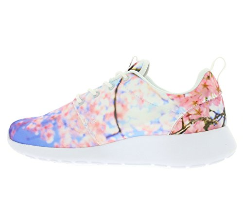 Nike Vrouwen Wmns Roshe Één Cherry Bls, Wit / Zuiver Platina Wit