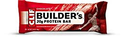 CLIF BUILDER\'S - Protein Bar - Chocolate 24 Bars