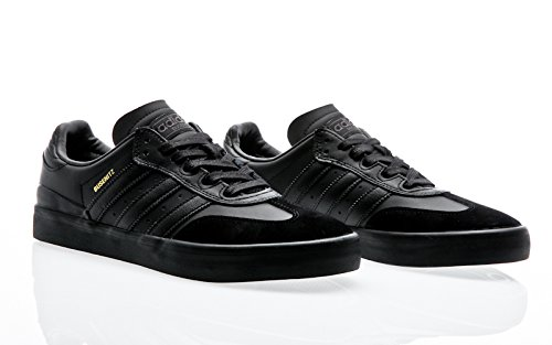 adidas Skateboarding Busenitz Vulc Samba Edition, core black-core black-dgh solid grey Black