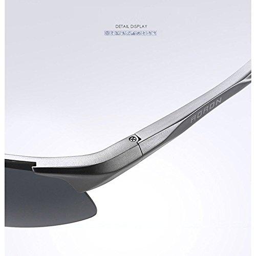Hombres Polarizadas de YANKAN Metal Sol Gafas de Marco de Conduciendo Moda A UV400 Hombres de xrwHnrqv