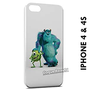 Carcasa Funda iPhone 4/4S Monsters Movie Protectora Case Cover