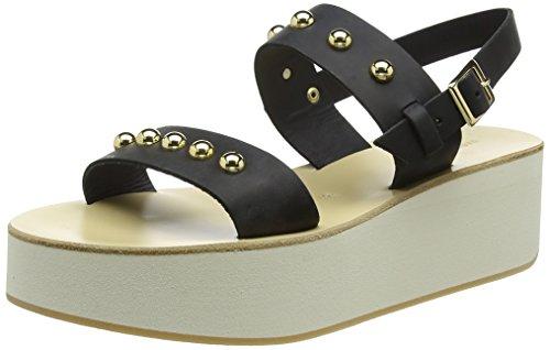 Fabio Rusconi WoMen Sandalen Platform Sandals Black (Nero 001)