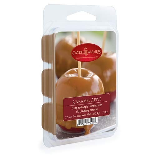 Tarts Caramel Candle Apple - CANDLE WARMERS ETC. Classic Wax Melts for Scented Wax Cube and Tart Warmers, Caramel Apple, 2.5 oz.
