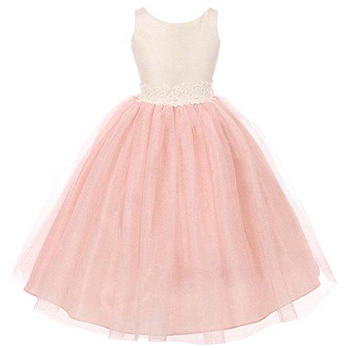 organza pink dress - 4