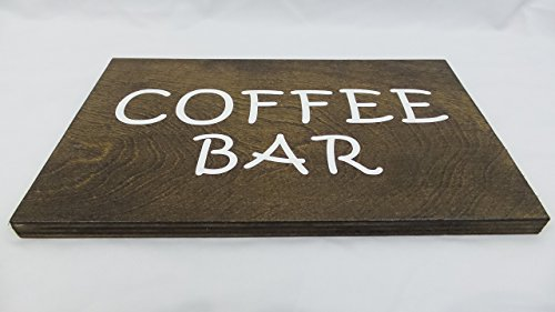 wooden coffee bar - 5