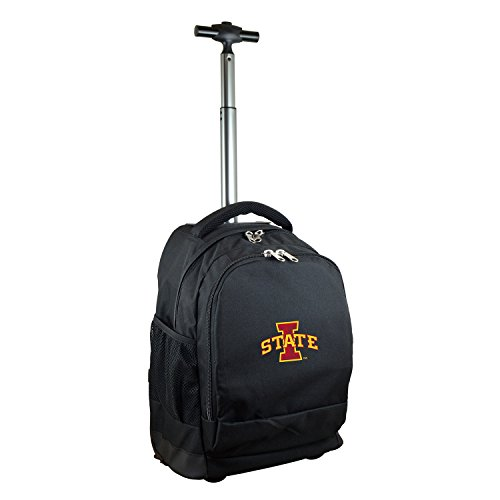 (NCAA Iowa State Cyclones Expedition Wheeled Backpack, 19-inches, Black)