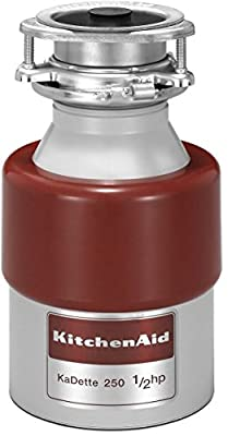 Garbage Disposals NEW KitchenAid 1/2HP Continuous Feed Food Waste Disposer Disposal KCDB250G