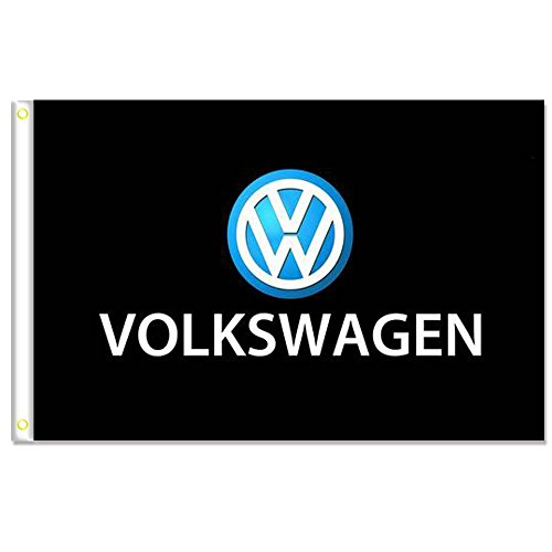 Home King Volkswagen Flag Banner 3X5FT 100% Polyester,Canvas