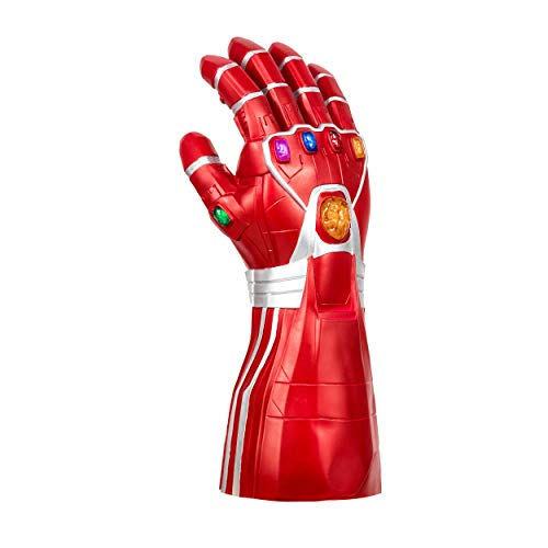 Infinity Gauntlet Thanos Gauntlet Glove Cosplay Thanos Props (Iron Man Gauntlet, Red)