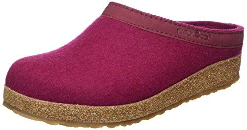 Haflinger Grizzly Wool Felt (Haflinger Womens Grizzly Torben Port Wool Felt Sandals 40 EU)