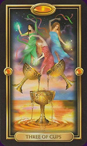 Anya Nana Gilded Tarot Deck Cards New in Box Standard Edition w/ Booklet Horoscopes by Anya Nana (Image #3)