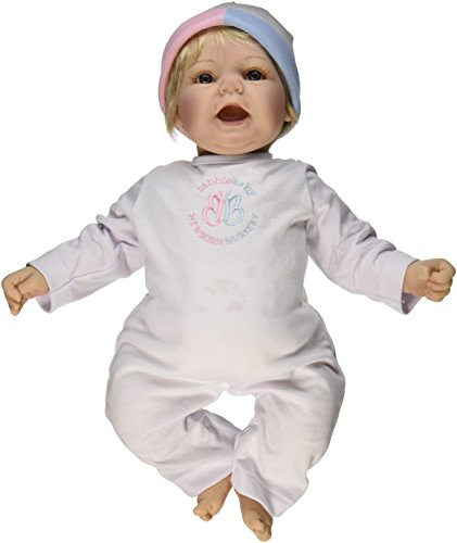Madame Alexander Babble Baby, Blonde Hair, Blue Eye Sweet Baby Doll