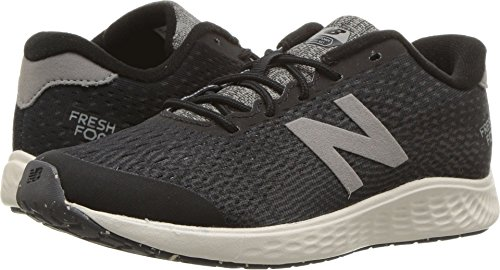 New Balance Boys' Arishi Next V1 Running Shoe, Black/Magnet, 3.5 W US Big Kid