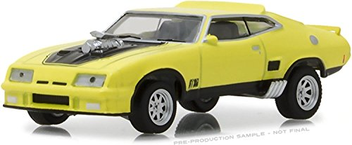 (1973 Ford Falcon XB in Yellow Blaze with Black Stripes , , Hobby Exclusive , , Authentic Decoration , , Metal Chassis , , True-To-Scale Detail , , Limited Edition, )