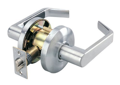 Cal-Royal SL30-26D Commercial Duty Passage Lever, Satin Chrome