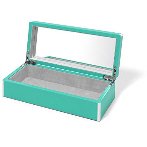 Swing Design Elle Lacquer Vanity Box, Turquoise