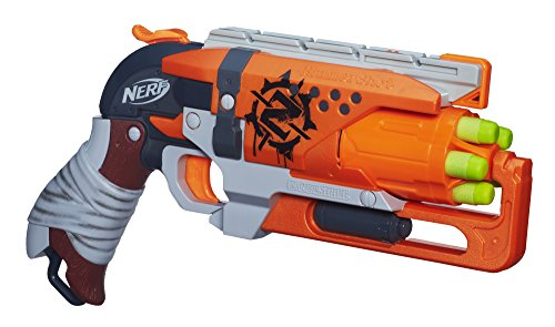 Nerf Zombie Strike Hammershot Blaster (Best Nerf Gun For The Price)