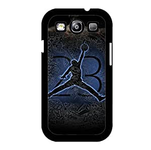 Jordan Logo Samsung Galaxy S3 I9300 Case Cover,Wonderful Air Jordan Logo Sporty Series Custom Printed Phone Cover for Samsung Galaxy S3 I9300