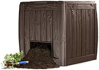 Compostador Deco Composter 340 L, Keter: Amazon.es: Jardín