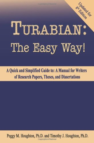 Turabian:Easy Way! (Updated F/8 Th Ed.)