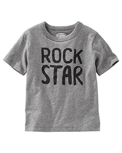 Osh Kosh Boys' Kids Graphic Tees, Rock Star, 7 - Kid Rock Printed T-shirts