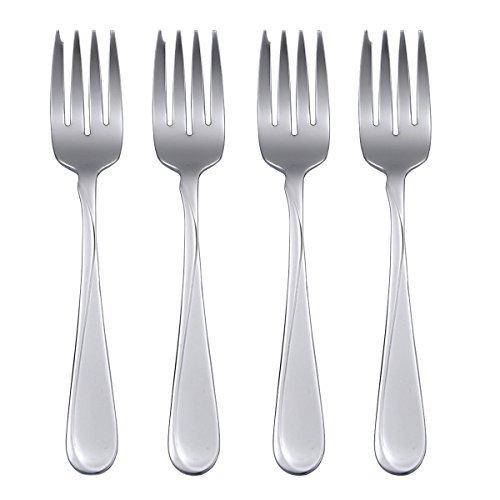 (Oneida Flight, Salad Forks, Set of 4)