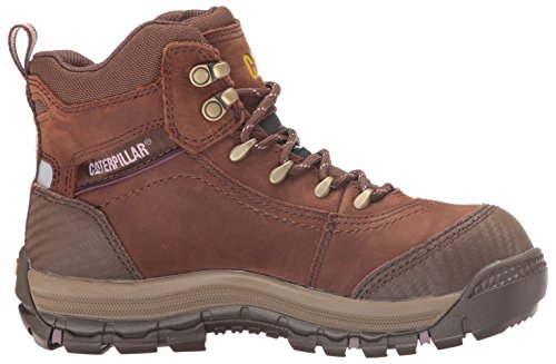 Caterpillar Women's Ally 6'' Waterproof Comp Toe Industrial and Construction Shoe, Brown, 10 W US by Caterpillar (Image #7)
