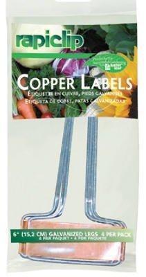 Luster Leaf 861 4 Pack Copper Rapiclip® Labels
