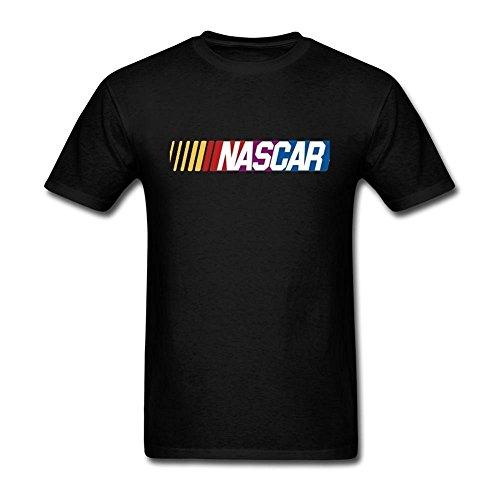 - Niceda Men's NASCAR Logo Short Sleeve T Shirt Black
